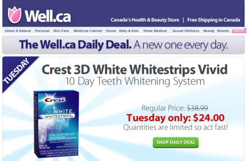 image relating to Crest White Strips Coupon Printable identified as Crest 3d whitestrips experienced outcomes coupon printable