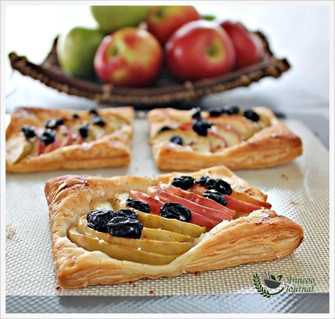 Easy Apple Tarts 简易苹果派 - Anncoo Journal