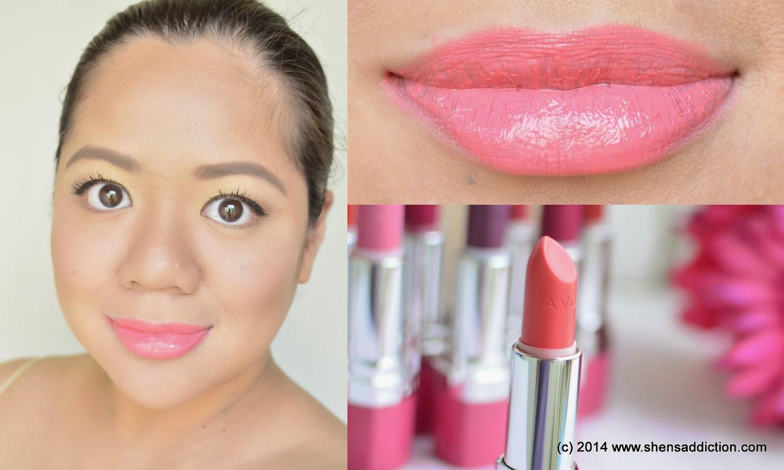 Avon True Color Perfectly Matte Lipstick Vibrant Melon