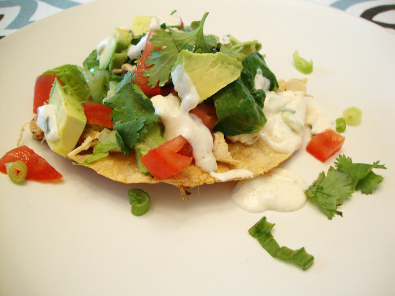 Tostada Salad Recipe — Dishmaps