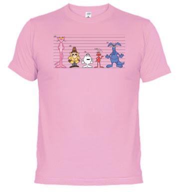 Camiseta Friki Vader Pantera Rosa