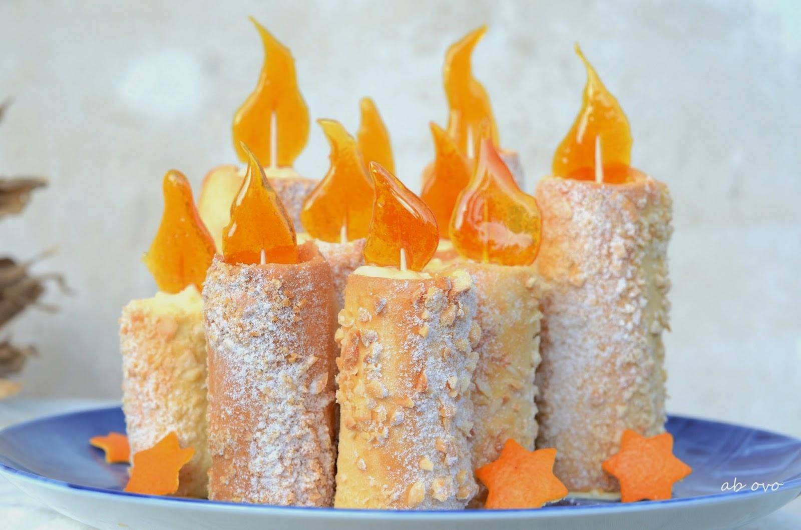 Candele-di-frolla-con-crema-alla-arancia-e-caramello