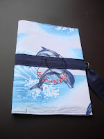 Porte-documents dauphins dolphins documents holder papers papiers