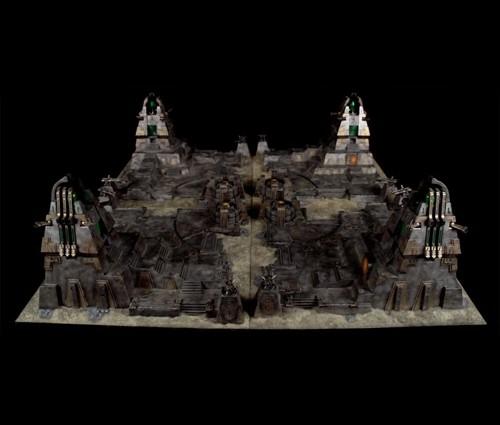 Complejo Necrón de ForgeWorld para Warhammer 40000