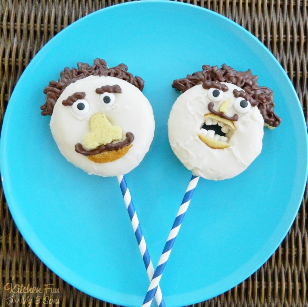 Daddy Donuts for Father's Day! - Kitchen Fun With My 3 Sons