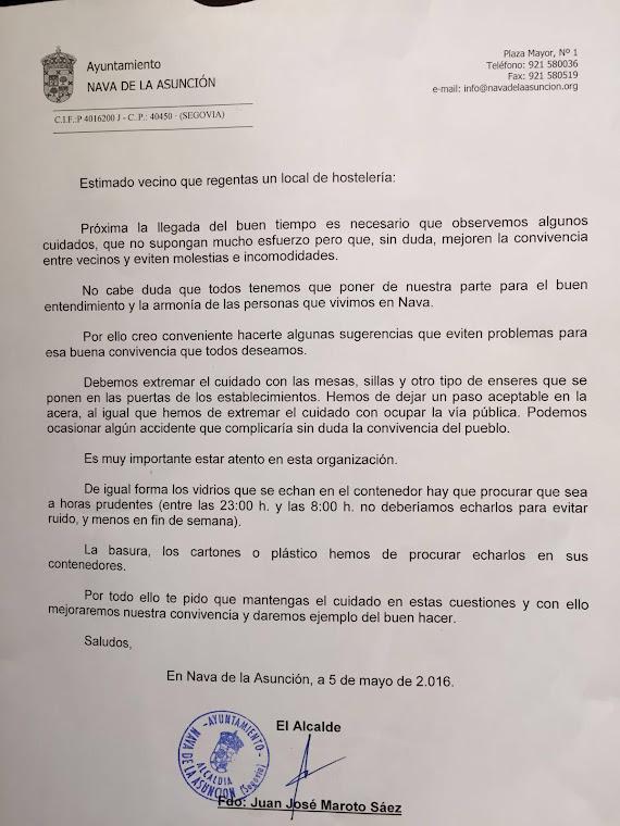 """La solución de Maroto al """"problema de las terrazas..."""""""
