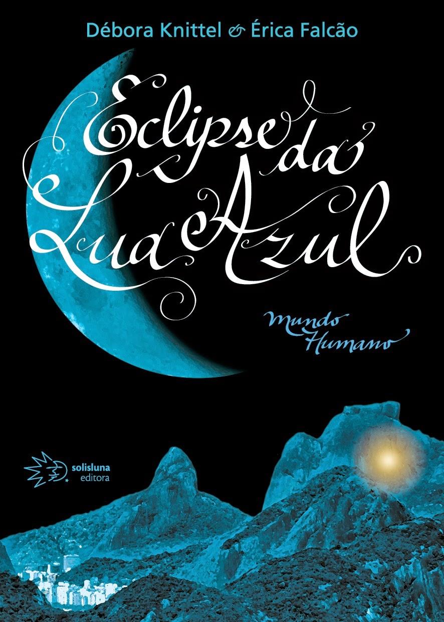 Capa do livro Eclipse da Lua Azul