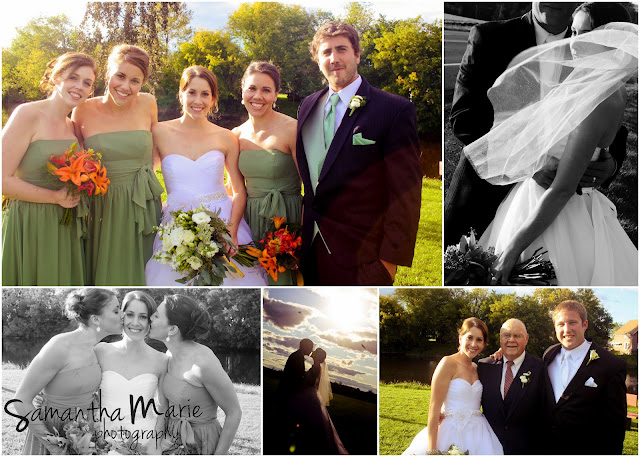 wedding formal family shots