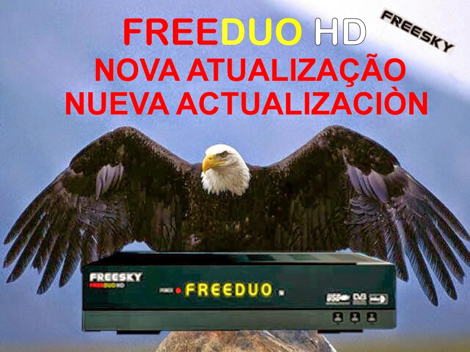 ATUALIZAÇÃO FREESKY FREEDUO HD - V 1.97 - 01/03/2015