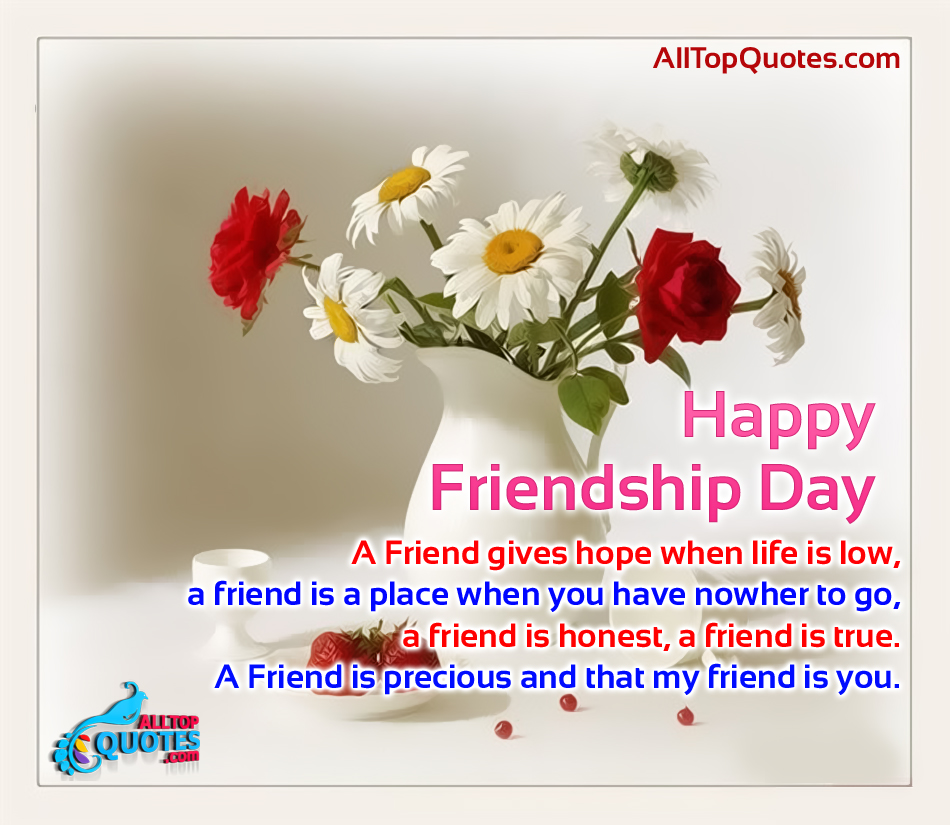 Best Friendship Day Quotes With Images In English : Happy friendship day best quotes images all