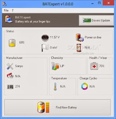 Memonitor Baterai Laptop Dengan BATExpert
