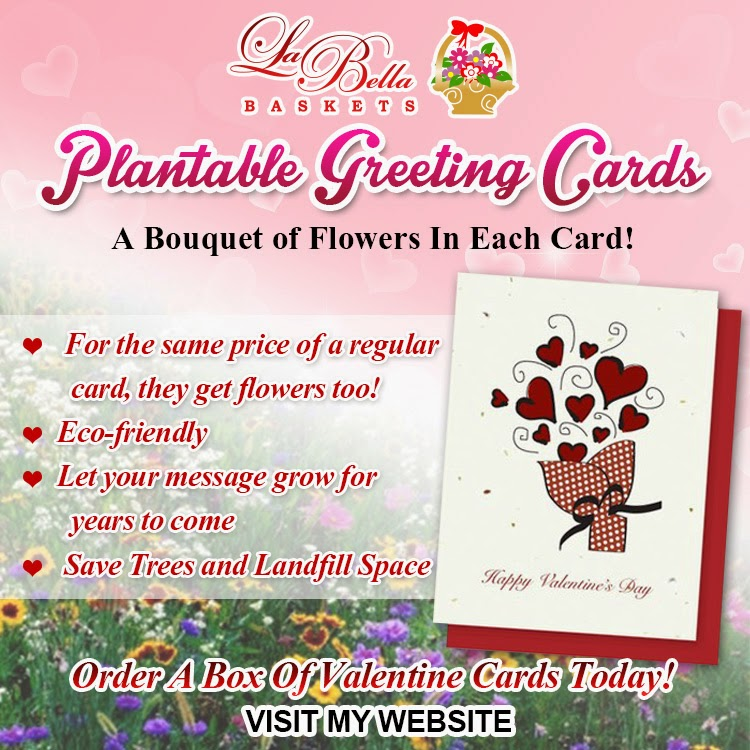 Kim's La Bella Baskets Plantable Greeting Cards