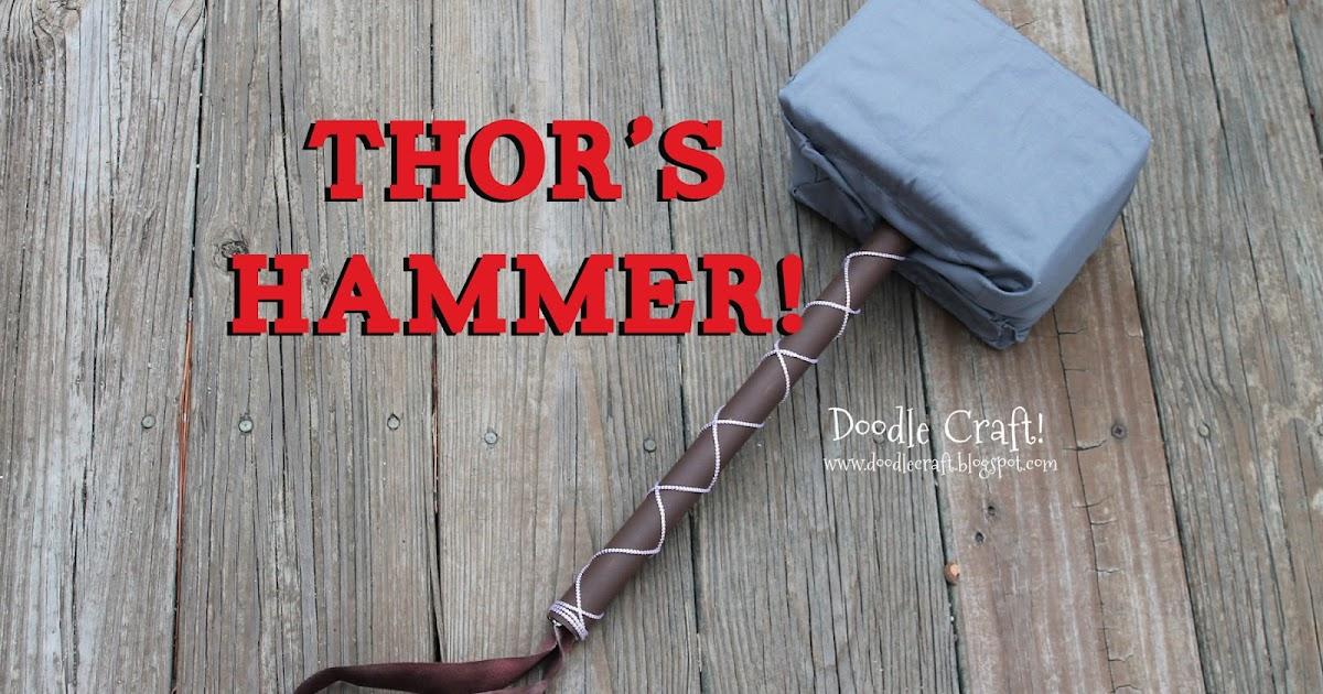 Doodlecraft Thor S Mighty Odeon Hammer