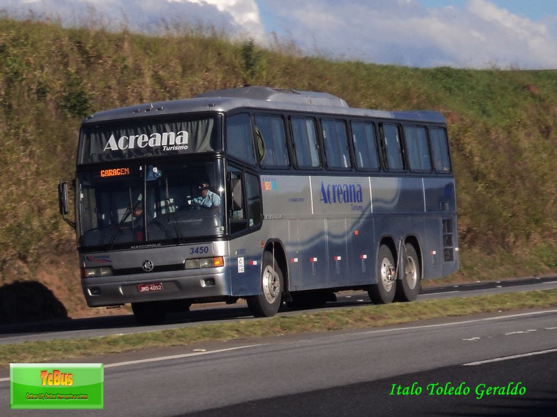Tcbus acreana turismo for 3450 toledo terrace