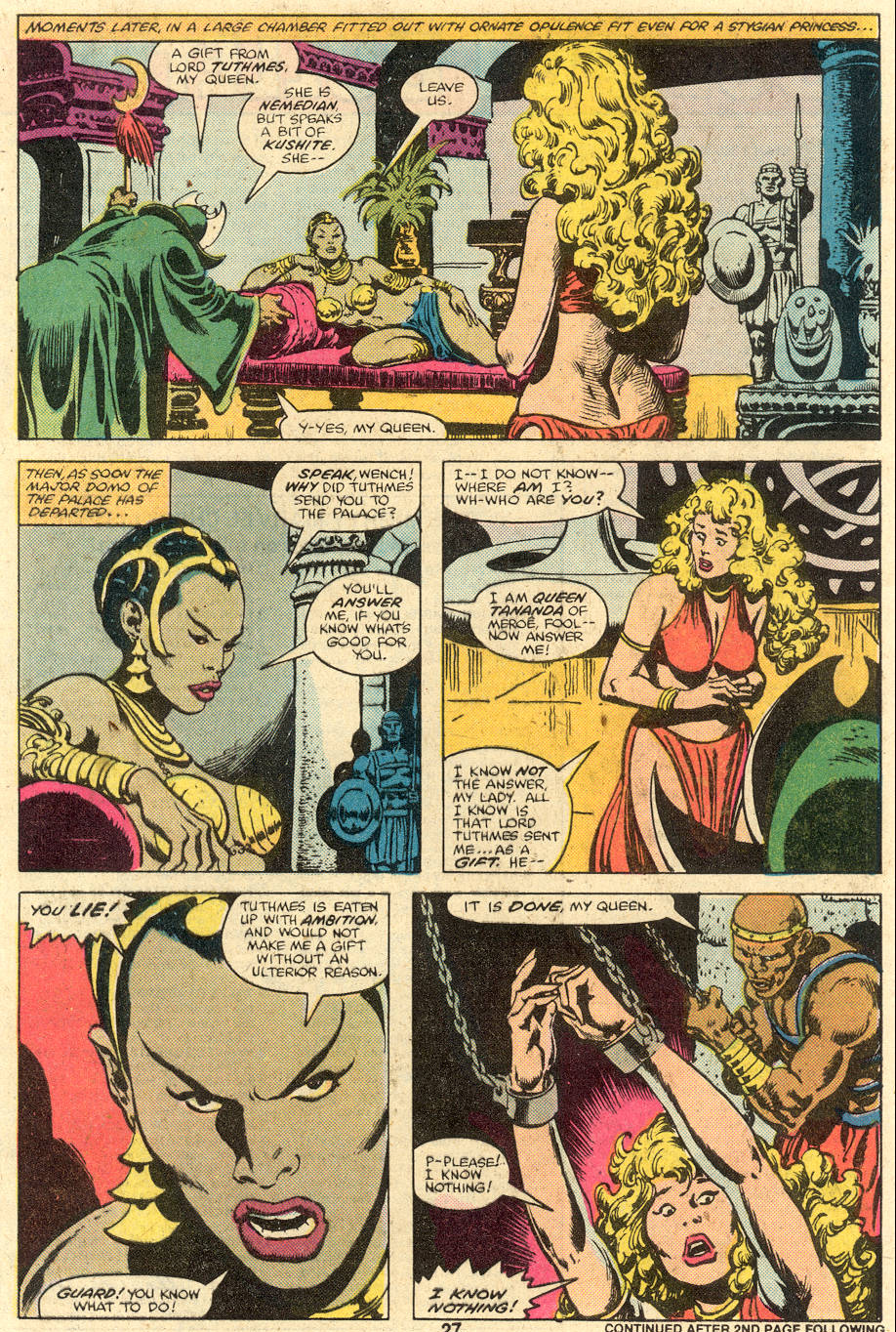 Conan the Barbarian (1970) Issue #106 #118 - English 17