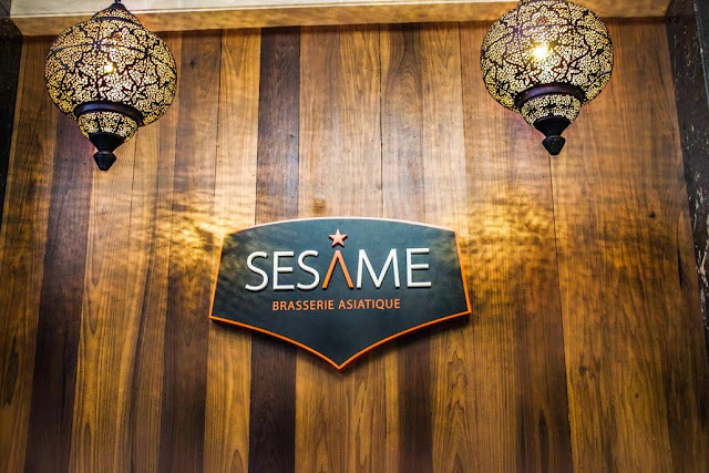 Restaurant Brasserie Asiatique Sésame Lebourgneuf Québec