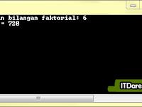 Source Code Program Menghitung Jumlah Faktorial Dengan C