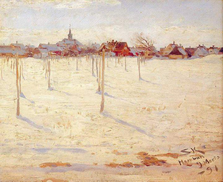 Peder Severin Krøyer 1851-1909 | Norwegian-born Danish Impressionist painter | Plein-air painting