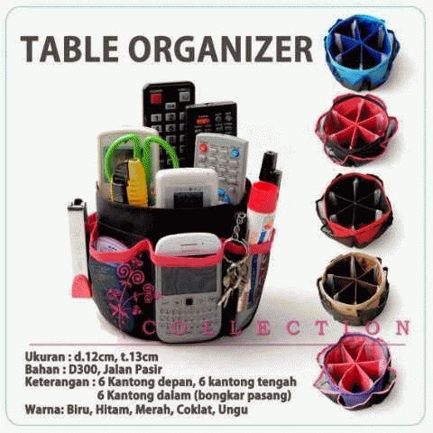 TMO - Table Multifunction Organizer