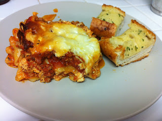 Easy Crock Pot Lasagna www.thebrighterwriter.blogspot.com