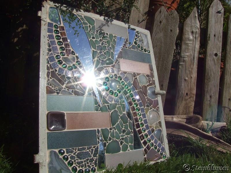 Mosaike im Garten