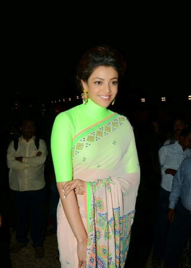 Kajal Agarwal Saree Photos