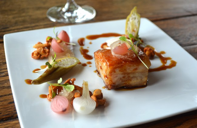Pork Belly, Le Vigne, Montaluce Winery