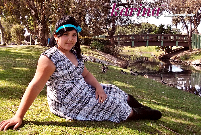 Karina Frockstar™ Nation Event Nora Dress In Black And White Plaid