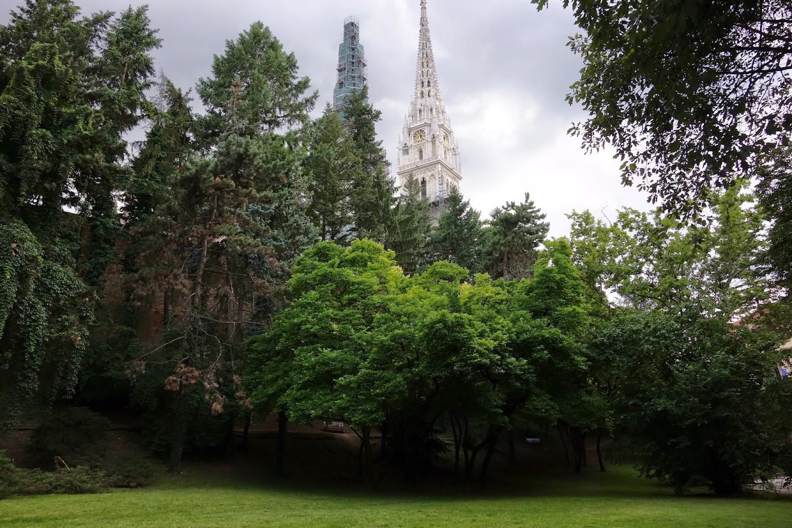 Tourisme m dical croatie les parcs de zagreb for Jardin botanique 78