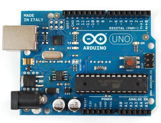 Placa de un Arduino Uno
