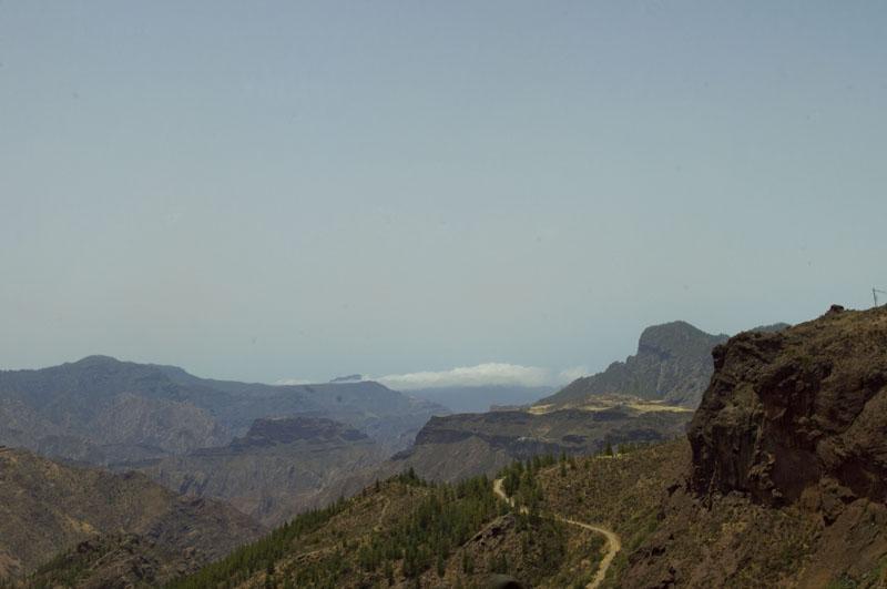 góry,Gran Canaria, widok,turystyka