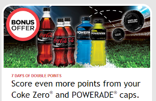 Being Frugal And Making It Work Last Day My Coke Rewards Double Points