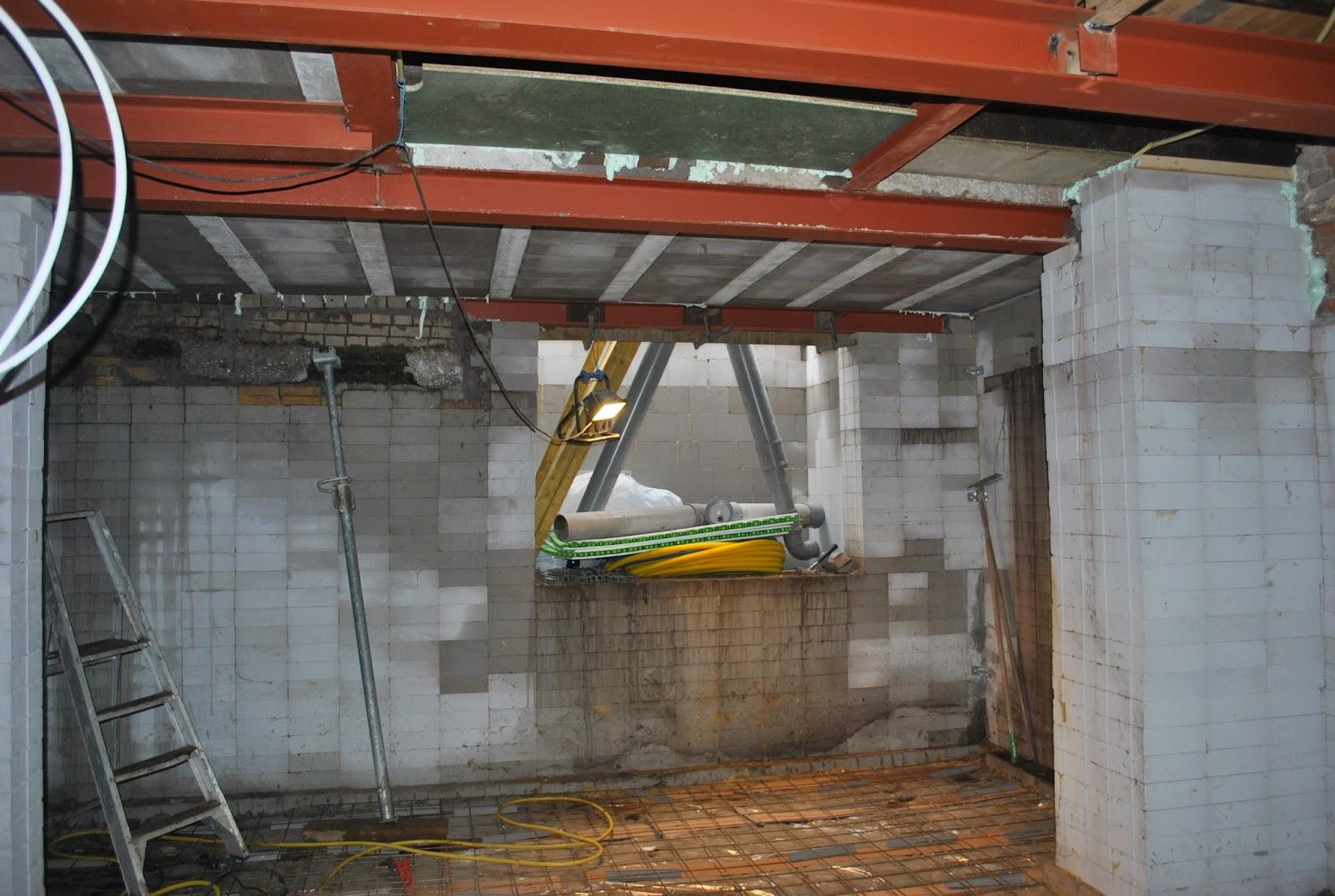 Ontwerpburo j groote bussum kelderbouw onder een bestaande woning update - Huis ingang ...