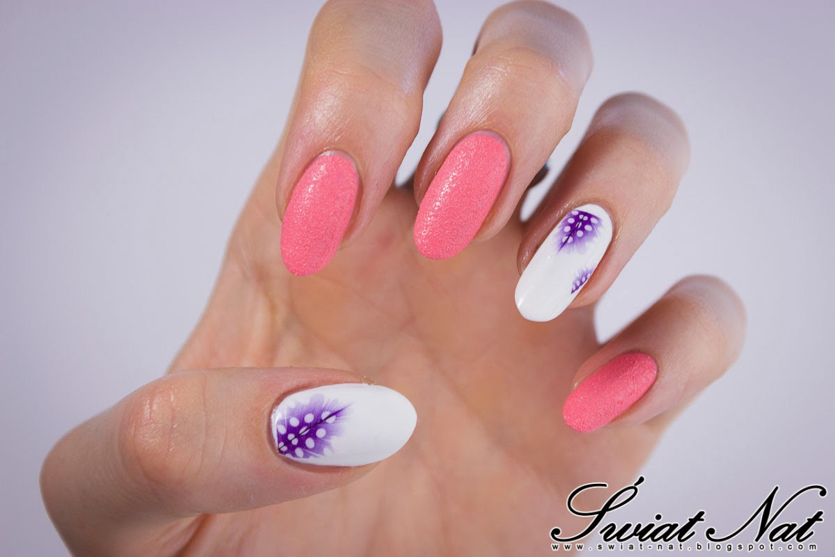 Mani manicure nails nailart sand piasek
