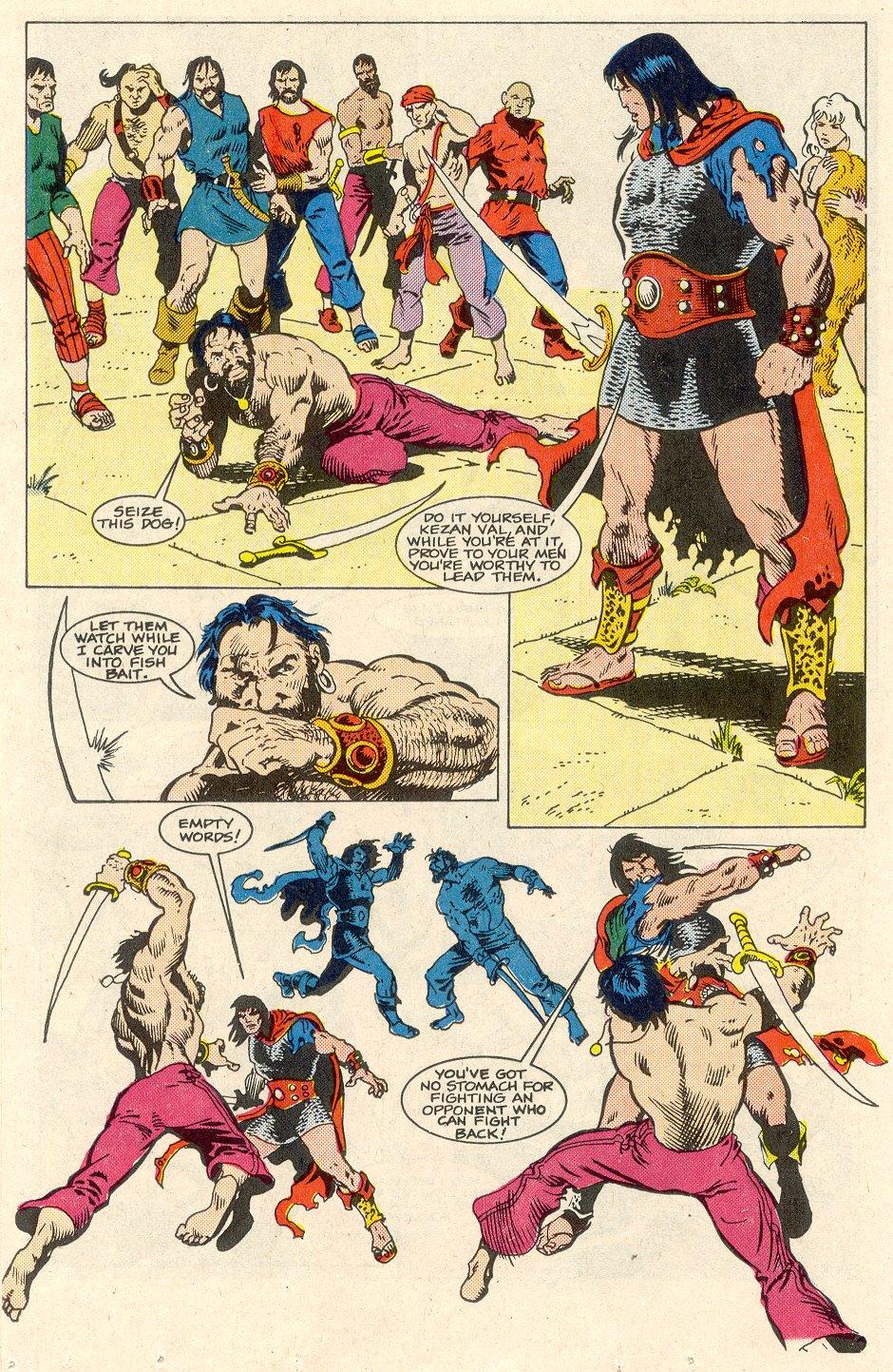 Conan the Barbarian (1970) Issue #186 #198 - English 13