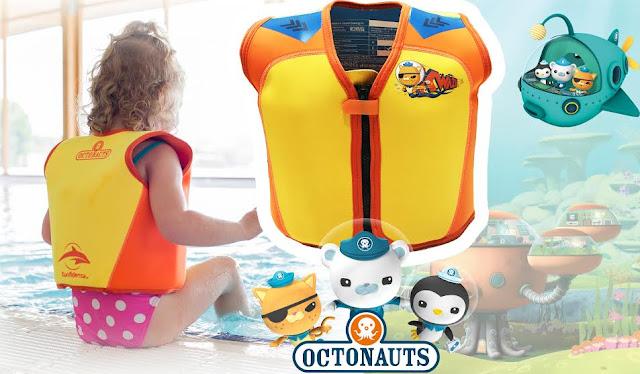 Octonauts swim jacket