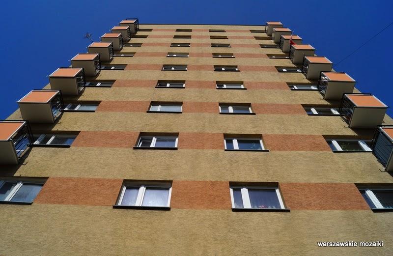 Mokotów Warszawa blokowisko warszawskie mozaiki