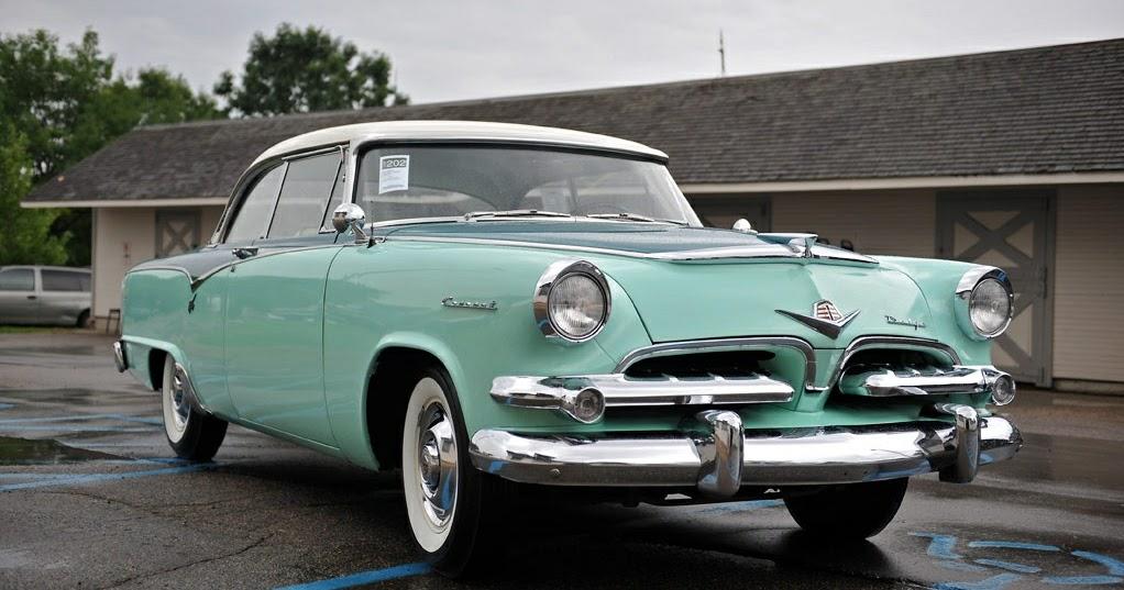 Dodge V8 All Models 1955 Complete Wiring Diagram
