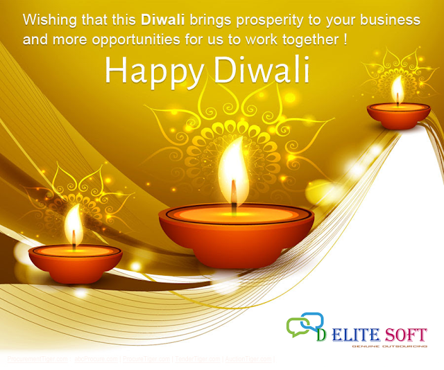 Happy Deepawali From D Elite Soft Family