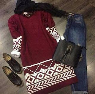 جديد ملابس محجبات شتاء 2016 غاية في الأناقة والشياكة