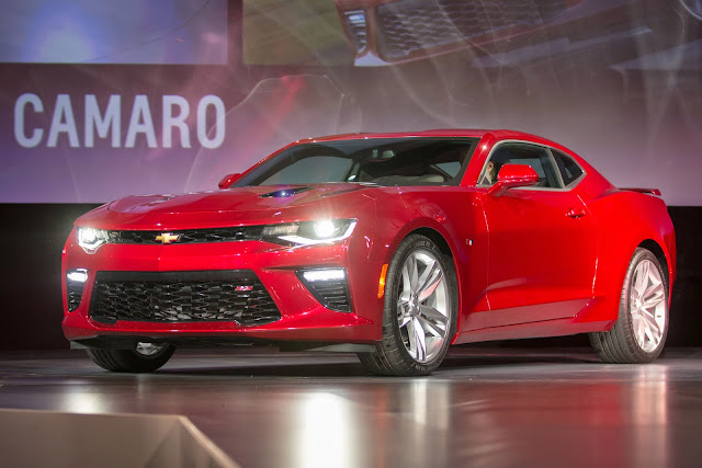 Meet The 2016 Chevy Camaro