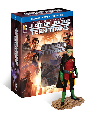Justice League vs Teen Titans Dc Universe Movie Blu-Ray Boxed Set