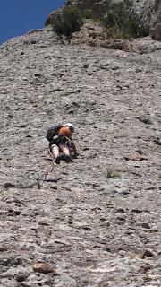 MONTSERRAT La Cara de Mico via escalada virtual