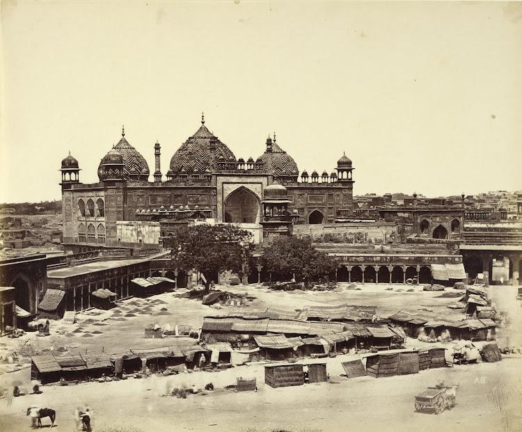 Jama Masjid - Agra c1860's