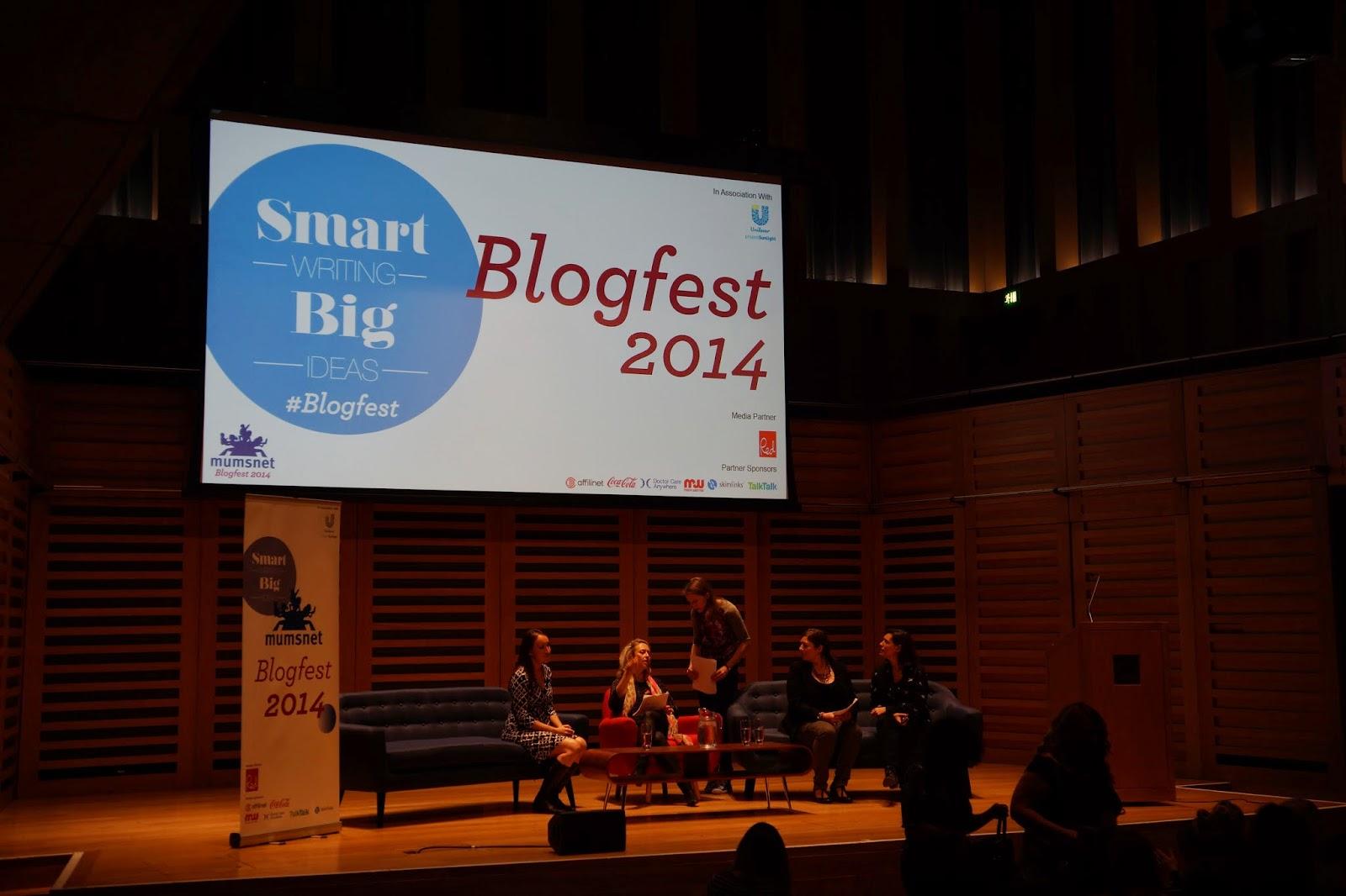 mumsnet blogfest 2014