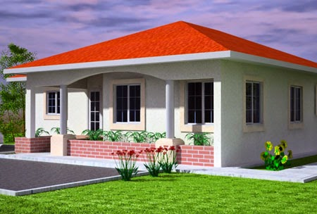 Hardrockconsultant cost of building a three bedroom for 4 bedroom flat bungalow plan