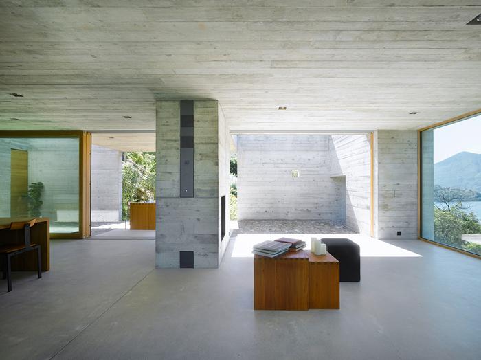 casas minimalistas y modernas casa moderna en hormigon. Black Bedroom Furniture Sets. Home Design Ideas