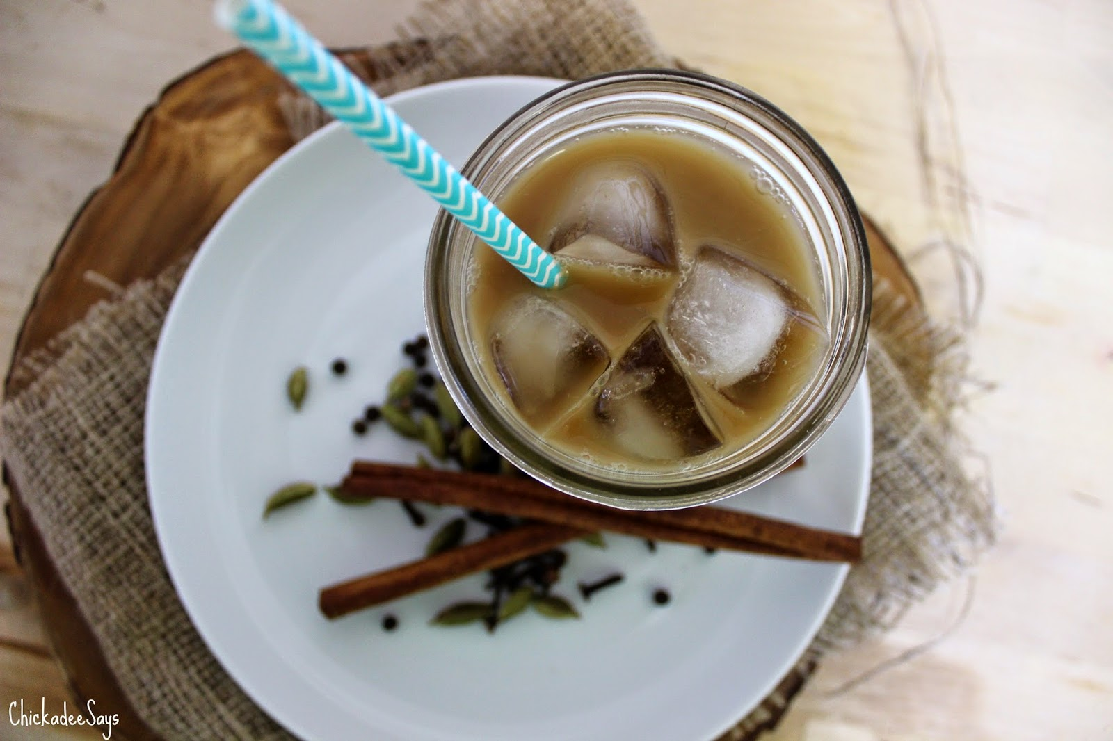 Chickadee Says: Summer Drink Series: Homemade Vegan Iced Chai Latte