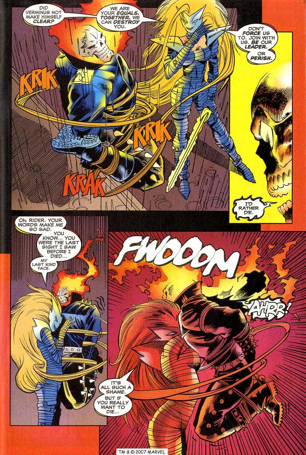Read online Ghost Rider (1990) comic -  Issue #90 - 35