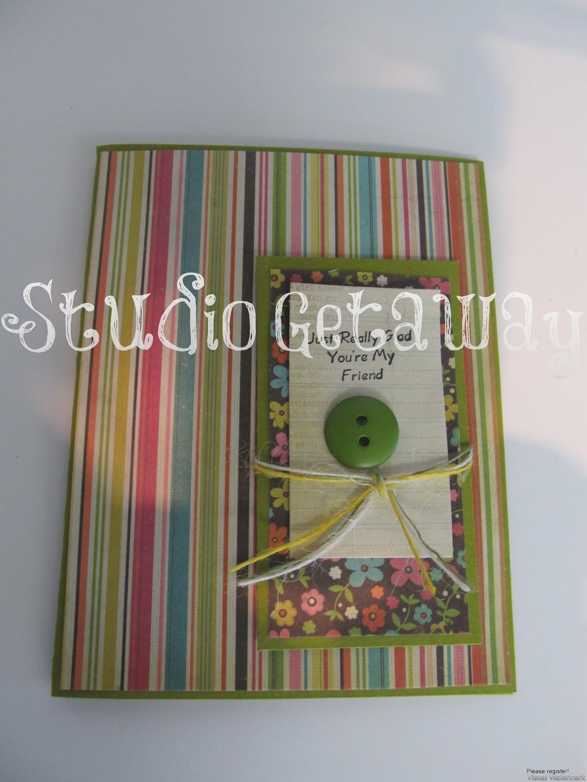 January scrapbook ideas - Cards And Scrapbook Ideas From January Retreat